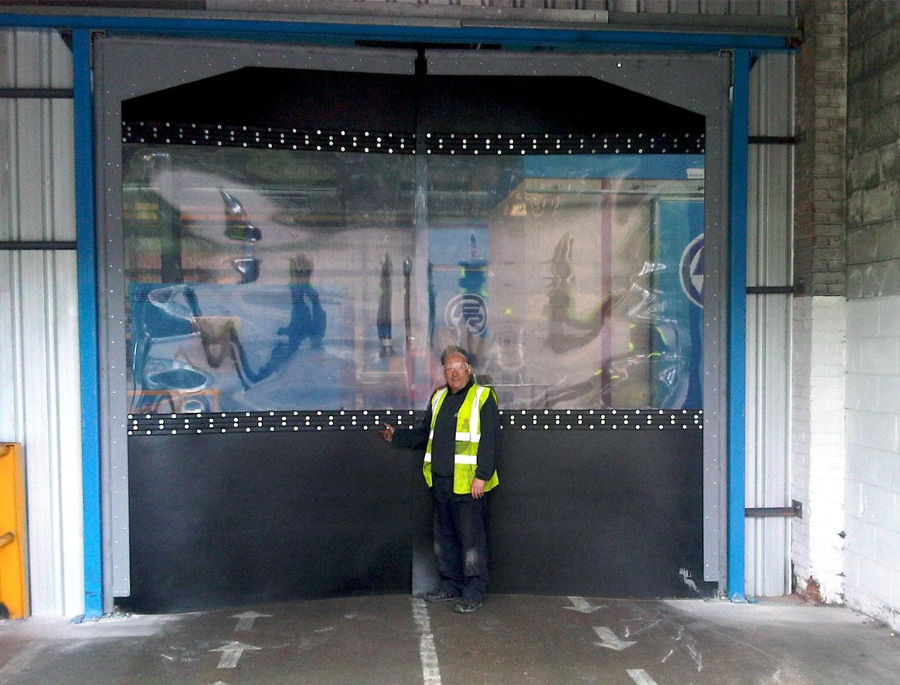 Product Image ... & Crash Door | Thermal Break Door | HAG UK