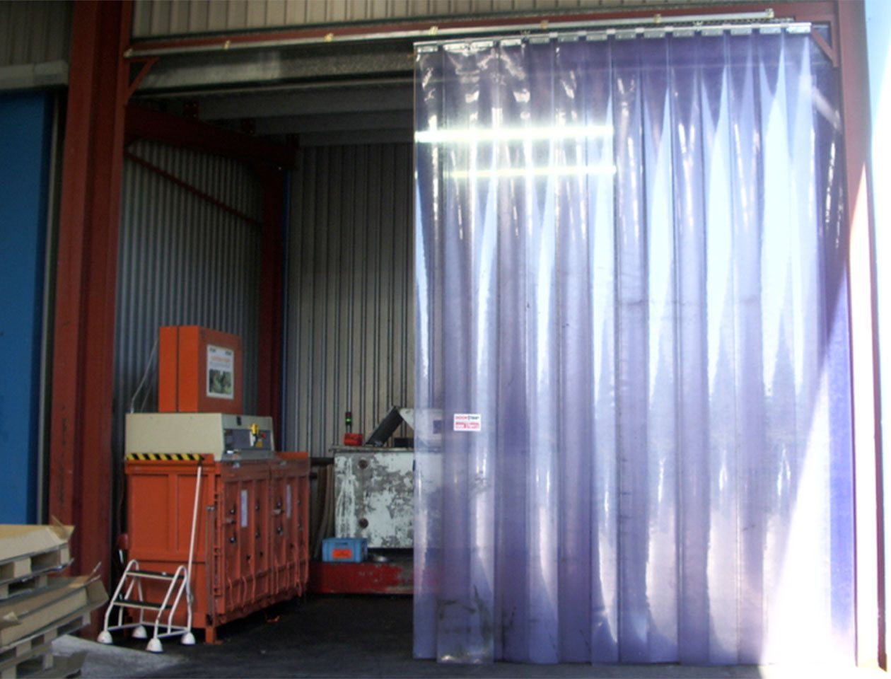 ev curtain speed door